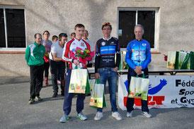 2ème place pour Stéphane Loubet à Coussa (09) le 18/03/16