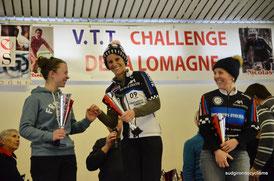 Challenge de la Lomagne  VTT 2016    Valerie Houdu - Pauline Eychenne - Séverine Zanghieri