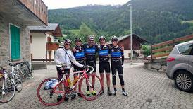 Les Aventuriers du Couserans pour la Cyclo de Stelvio (italie)