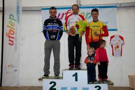 2ème Pascal Claustre Ch Ariège VTT 2015 à Saint Lizier (09)