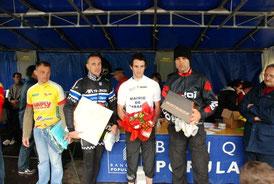 2ème Hervé Maugard & 3ème Laurent Estaque  à la ronde de l'arize (31) 2013