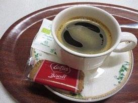 おまけ付きのコーヒー