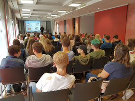 Tag der Technik 2018: Vorträge (Bild: VDE Saar)