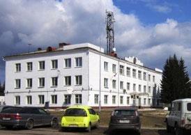 Здание администрации Уярского района