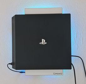 Wandhalterung PS4 PRO Playstation Wandmontage Halterung
