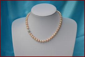 Superbe collier de perles de culture noires, de 1 mm : à partir de 235 €
