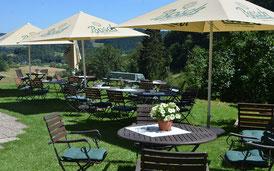 Ausblick von Café Hainbach