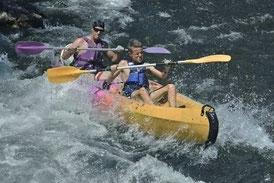 Le kayak biplaces est le canoë kayak le plus loué