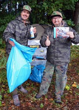 """#plasticinthebasket  Am nächsten Samstag, den 3. Oktober 2020 veranstalten Rhino Fishing Europe und der Verein """"Plastic in the Basket"""" e.V. einen Müllsammeltag."""