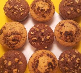 Gemischte Muffins