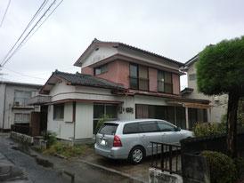 住宅塗装 施工前
