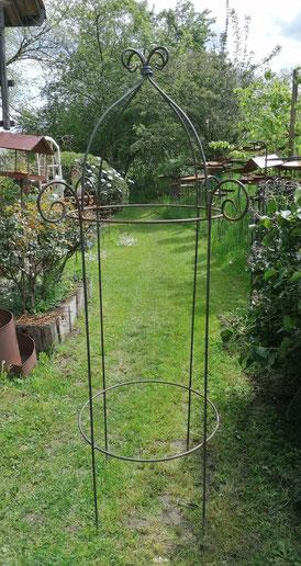 NEU: Rosenfein | Höhe 200 cm | mit drei Ringen | Fr. 225.-  | lieberbar auf März 2022