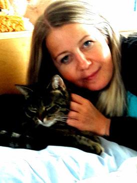 Tamara Buschor mit Bonnie