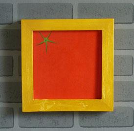 Tomate-Gemälde-Bild-Kunstwerk-Skulptur von künstlerstein.de Mathias Rüffert