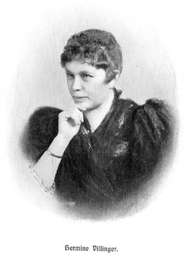 Porträt Hermine Villinger