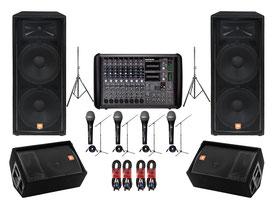 Ljud utrustning