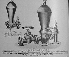 Widder (Preisliste von 1921)