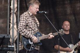 Claus Heeg & Uwe Lill (v.l.) auf dem Stadfest Aschaffenburg