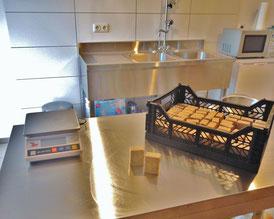 Ein Ausschnitt der Seifenküche bei Bonsai-Seifen