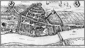 Matthias Merian_Schaffhausen_1642