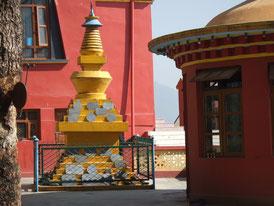 高僧リンポチェが永眠する仏塔