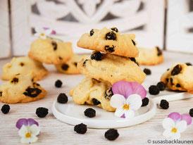 vegane Aronia-Kekse