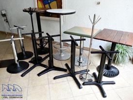 Bases para mesas, pedestales para mesas