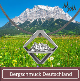Bergschmuck Kette Collier Deutschland Zugpspitze Gehrenspitze Säuling