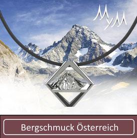MYM Bergschmuck Ketten Colliers Österreich Großglockner Wildspitze Wetterspitze Alpen