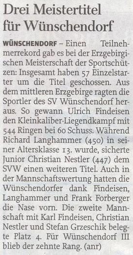 Bild: Wünschendorf Chronik 2017