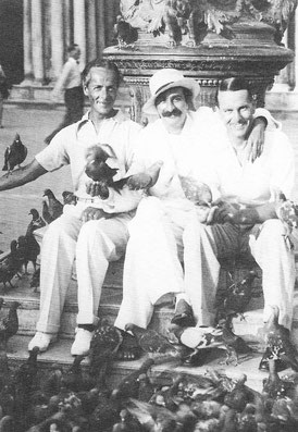 Meher Baba with Quentin Tod & Herbert