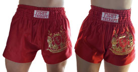 MuayThai-Shorts rot-gold (unisex)