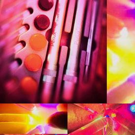 Farbtherapie Farbpunktion