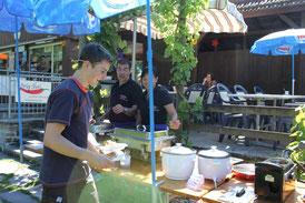 prig thai im vergangenen Jahr in der Badi  Willisau