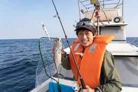 魚を初めて釣った感動は忘れられない