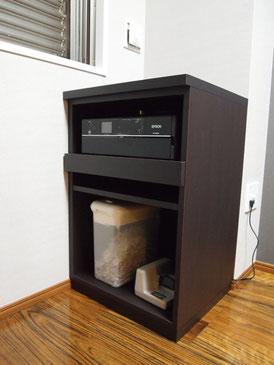 オーダー家具,プリンター収納,インテリア