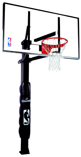 "Spalding In-ground Basketballanlage 60"" Glass"