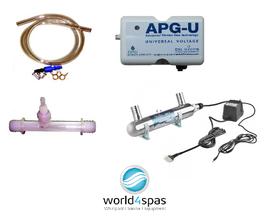 Ozongerät Wellis, Ozonator Wellis, UV-Lampe Wellis, UV Desinfektion Wellis