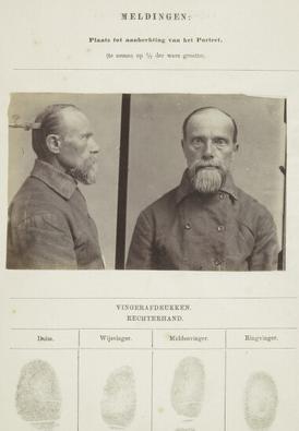 Signalementkaart Veenhuizen opname 14-07-1896