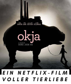 "Filmplakat ""Okja"", Netflix-Film"