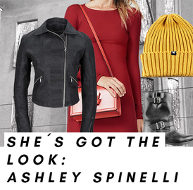 Look von Ashley Spinelli, Disney`s große Pause