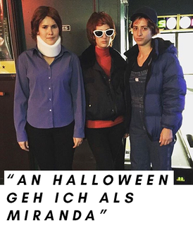 Halloween-Kostüm Miranda Hobbes aus Sex and the City