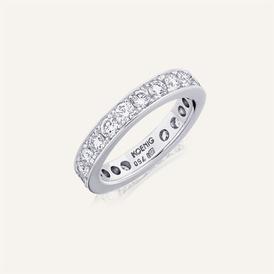 "Wedding Band ""Channel-Set"" by Koenig® Jewellery - 100% swiss handmade"