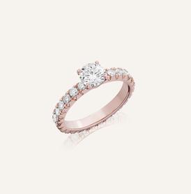 """Engagement Ring """" Romance"""" by Koenig® Jewellery - 100% swiss handmade"""