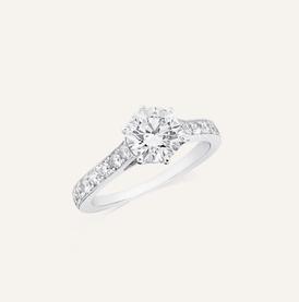 """Engagement Ring """" Amore"""" by Koenig® Jewellery - 100% swiss handmade"""