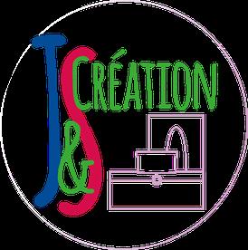 Logo sans fond de J&S Création, entreprise de créations faites mains.