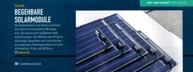 Klebbare Solarmodule für Segelboote, Wohnmobile und Camper. Die SOLARA Solarmodule ohne Rahmen sind besonders leicht, flexibel und begehbar. Seit über 20 Jahren bewährte mobile Technologie für Solarstrom auf dem Dach vom Reisemobil oder Deck vom Segelboot