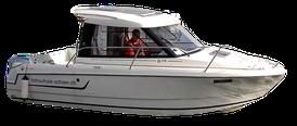 Fahrschul Boot, Gute Fahreigenschaft, beste Umsicht in der Kabine. Das Ausbildungs Boot eignet sich optimal zum Erlangen des Bootsführerscheins. Erkennungswert der Fahrschule Schär in Luzern.