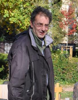 Das Grünschnabel-Team - Roger Schneck ist Landschaftsgärtner und häufig im Außendienst für den Grünschnabel unterwegs.