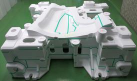 《フルモールド鋳造法》による模型